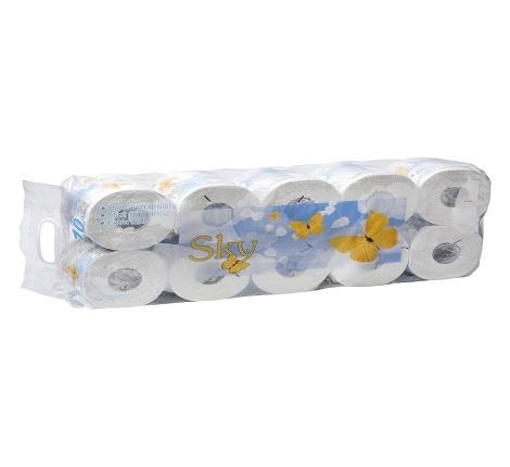 """20074gt """"SKY"""" Трехслойная туалетная бумага."""